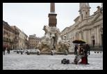 rome sous la neige février 2012