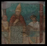 fresque de giotto - saint jean du latran