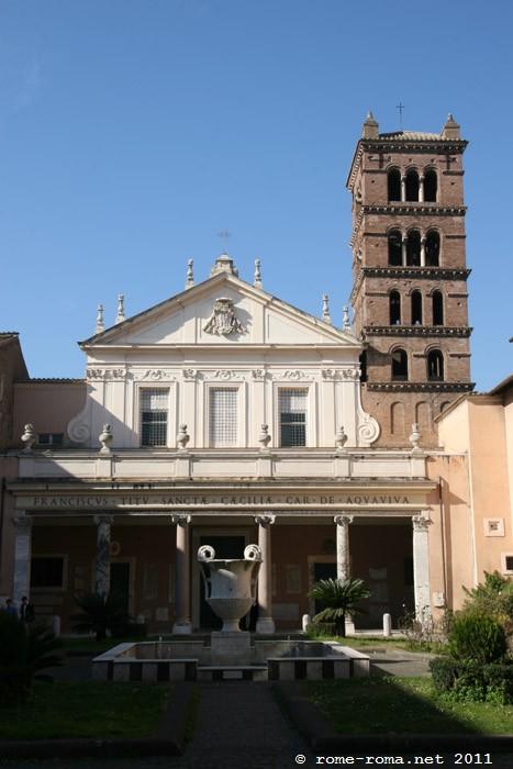 Sainte Cécile du Trastevere