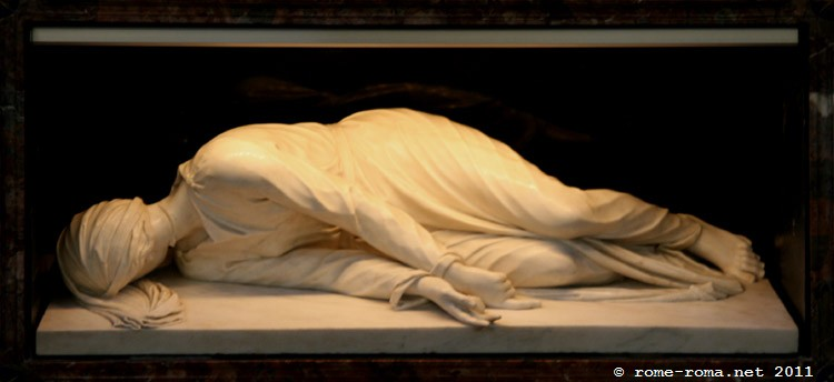 Statua di Santa Cecilia