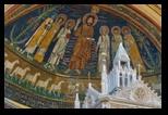 mosaique Santa Cecilia in Trastevere