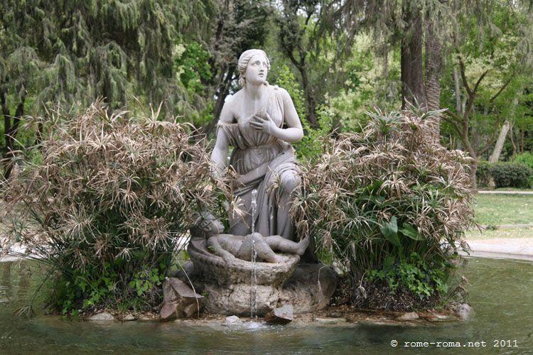 pincio - fontaine du moise