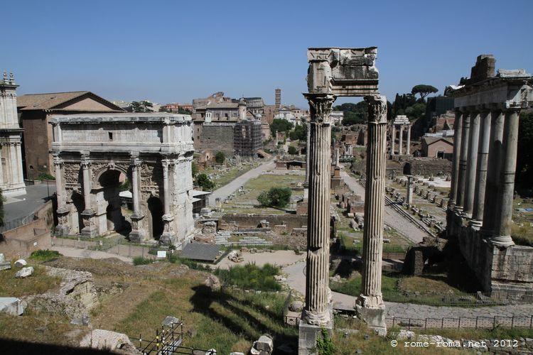 les antiquites de rome