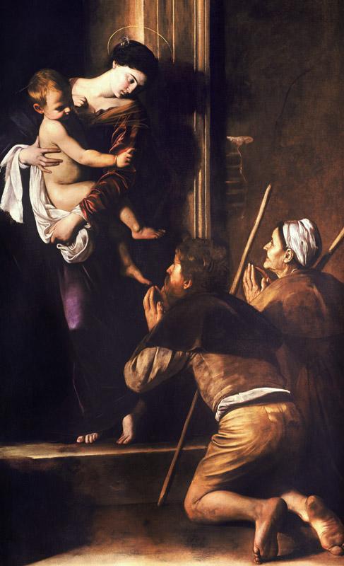 Madonna di Loreto, Caravaggio (1604)