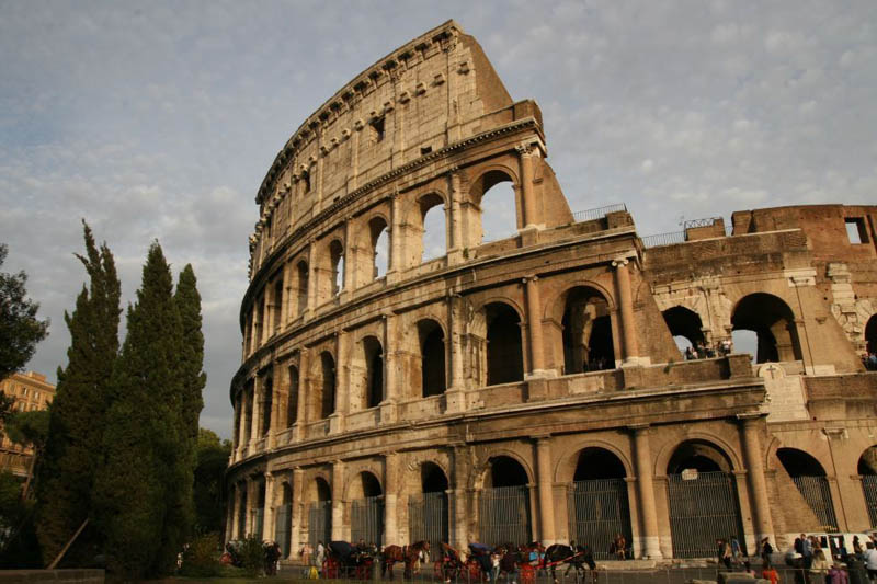 Monuments de la rome antique for Architecture celebre