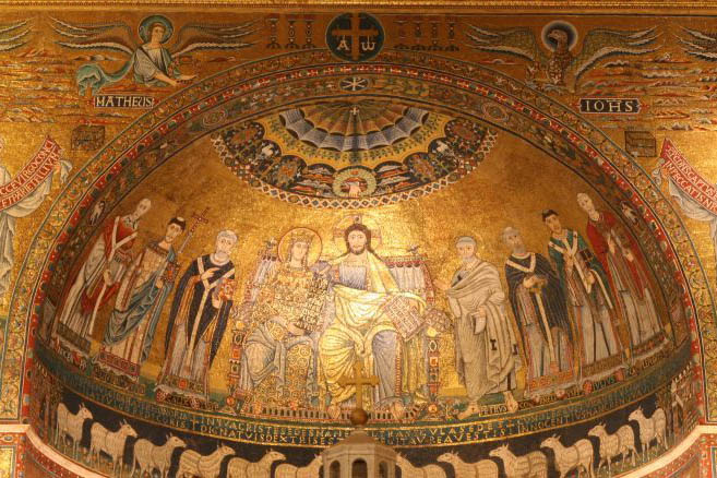 mosaico - santa maria in trastevere