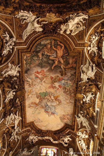 fresque - santa maria della vittoria