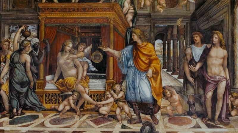Il Sodoma, Noces d'Alexandre et de Roxane