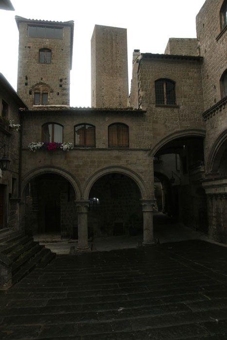 viterbe - quartier médiéval San Pellegrino