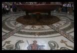 Salle circulaire : mosaïques d'Otricoli