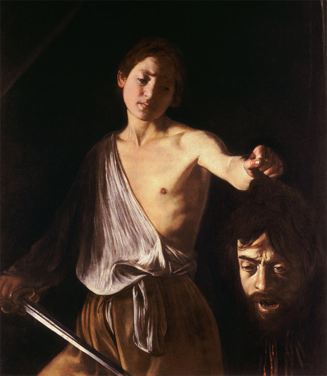 Caravage, David portant la tête de Goliath