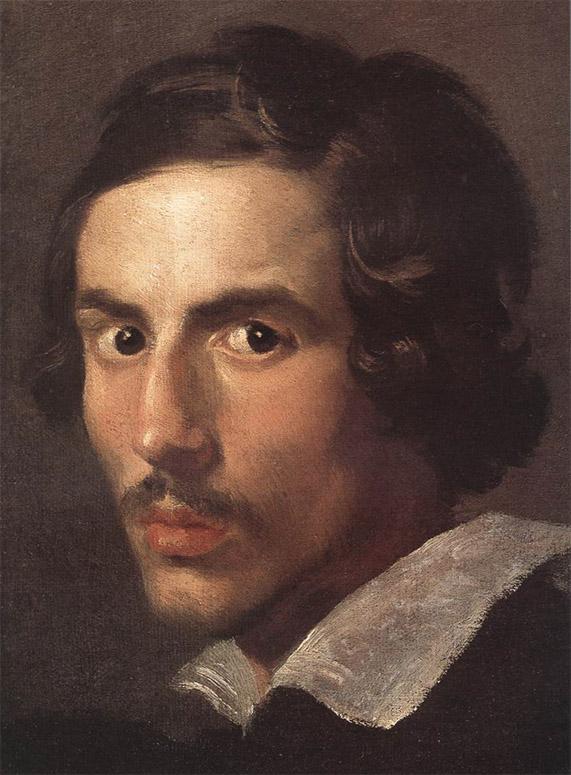 Le Bernin, Autoportrait jeune