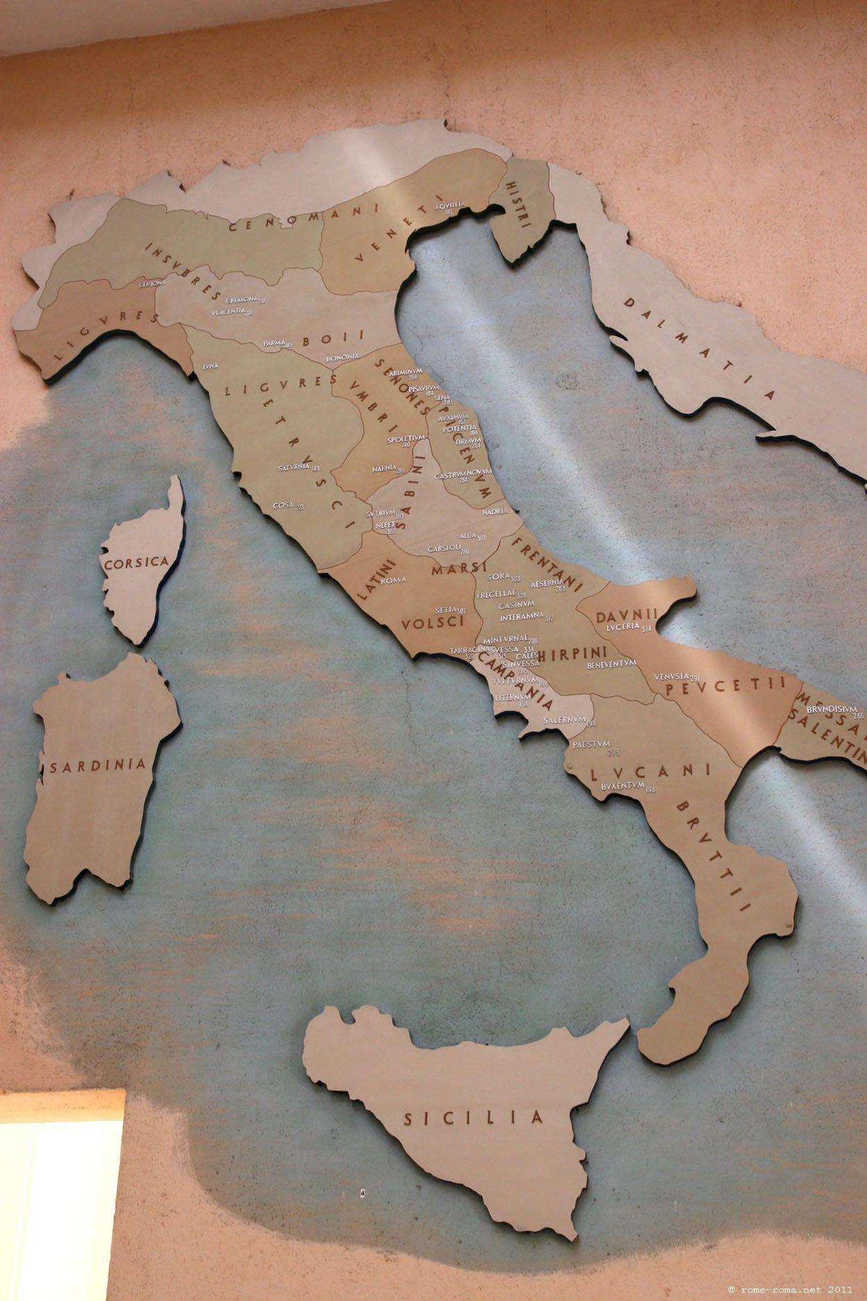 Cartina Italia Romana.Mappe Dell Impero Romano Rome Roma