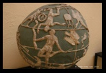 Globe antique, Atlantee Farnese : voute céleste, zodiaques