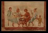 Scène de repas, de Pompéi