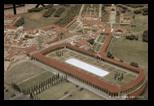 reconstitution, maquette de la villa d'Hadrien