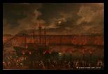 Charles la Croix, Festa notturna nella darsena di Civitavecchia, 1763