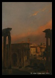 Ippolito Caffi, arco di Settimio Severo, 1857
