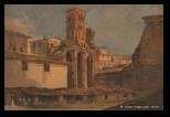 Ippolito Caffi, bagni di Paolo Emilio, 1857