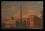 Ippolito Caffi, Piazza di Monte Cavallo del Quirinale, 1847