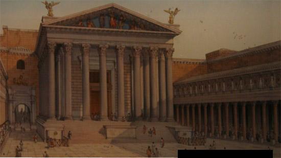 forum d'auguste - reconstitution