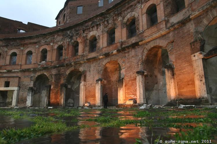 forum de trajan à rome