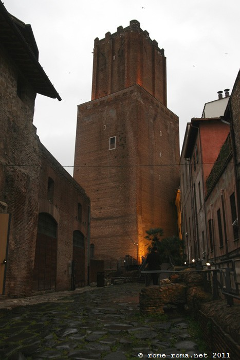 Largo Magnanapoli e Torre delle Milizie
