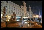 Place Navone - Noel à Rome