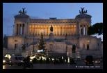 Place de Venise à Rome - Soir