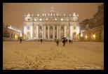 neige à rome