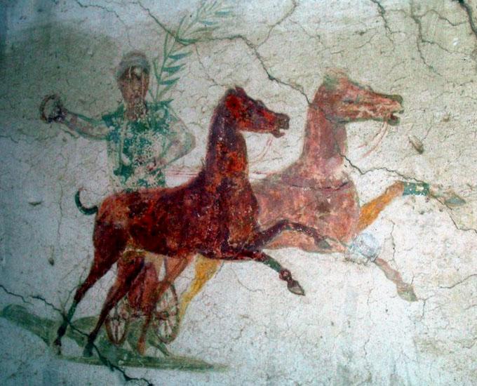 ostie - peintures et fresques