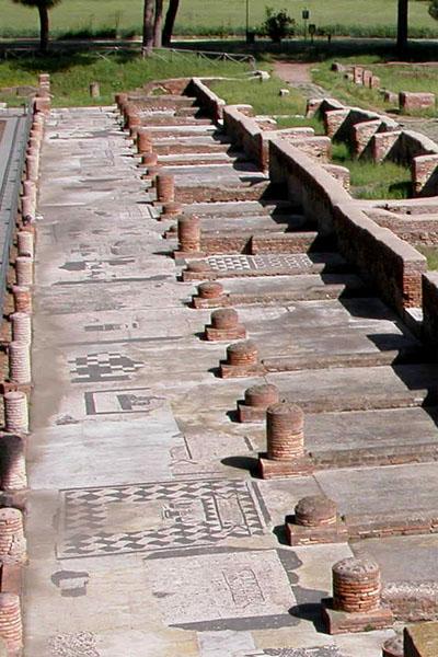 Visita e fotografie di Ostia antica