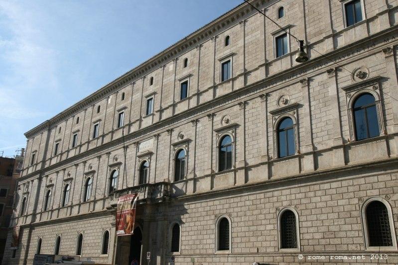Palais de la Chancellerie à Rome