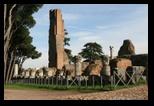 domus flavia, basilica jovis, colline du Palatin