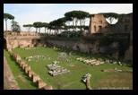 Domus Augustana, stade, colline du Palatin