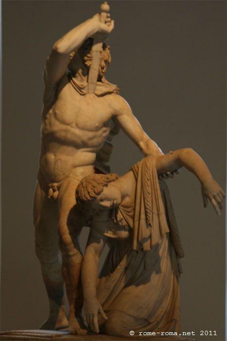 Suicide du Galate palazzo altemps - musée national romain