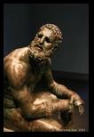 boxeur au repos sculpture République Romaine
