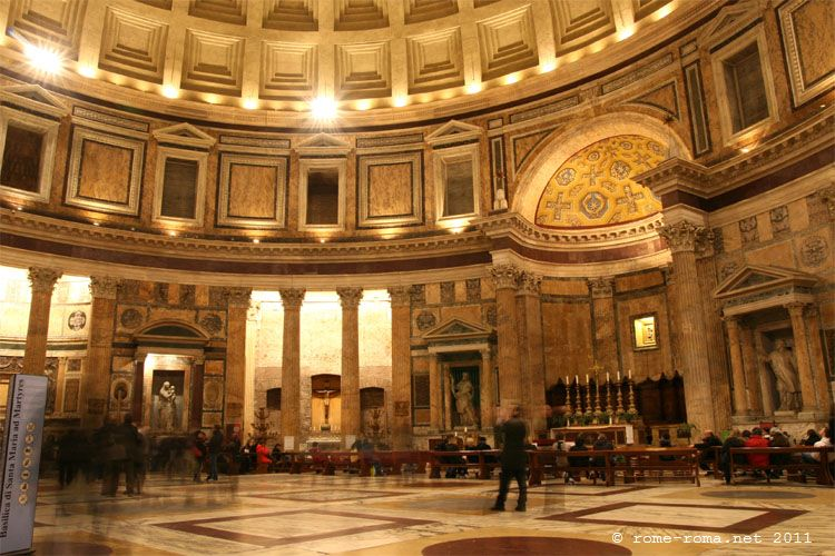 pantheon interno