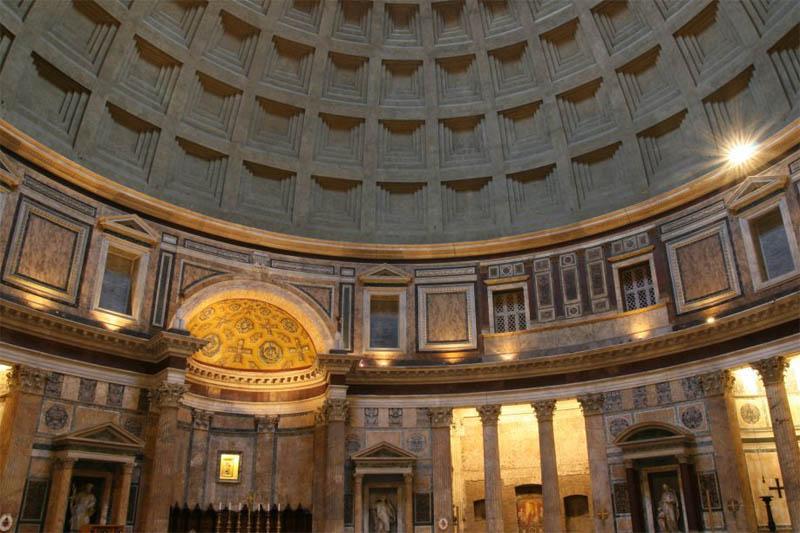 """""""La Révélation des Pyramides""""  Pantheon-Rome_2404"""