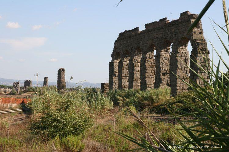 Parc des aqueducs romains