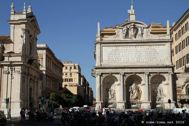 piazza san bernardo - fontaine