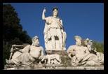 piazza del popolo à Rome