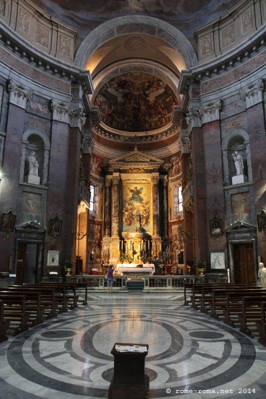 Eglise San Giacomo in Augusta à Rome