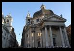 Santa Maria dei Miracoli, Piazza del Popolo, Rome