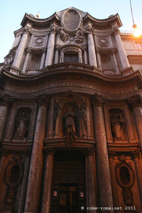 Façade Saint Charles des quatre fontaines