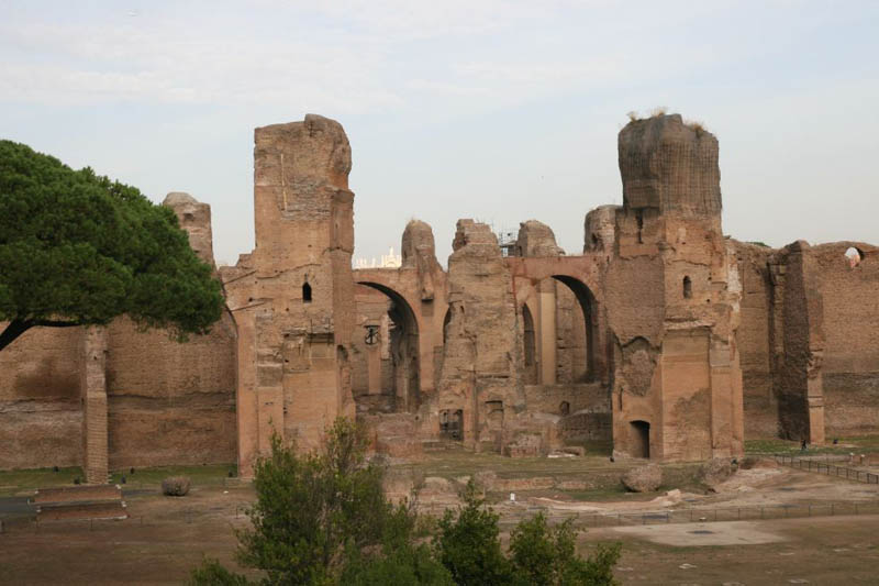 Baths of caracalla - Decoration romaine antique ...