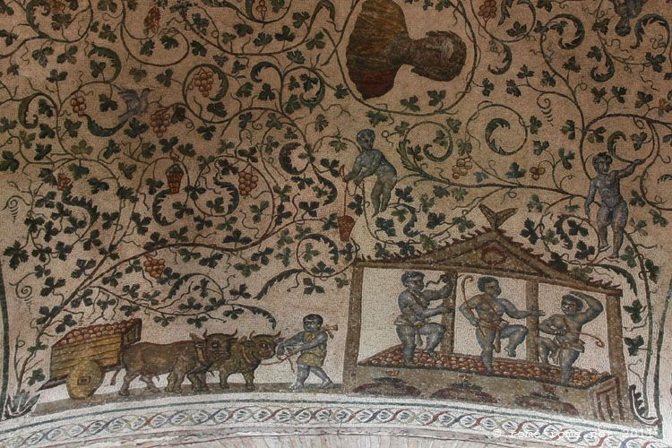 fresque sainte agnès hors les murs