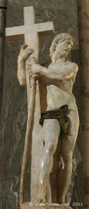 Le Christ de Michelange, Sainte marie sur minerve - rome