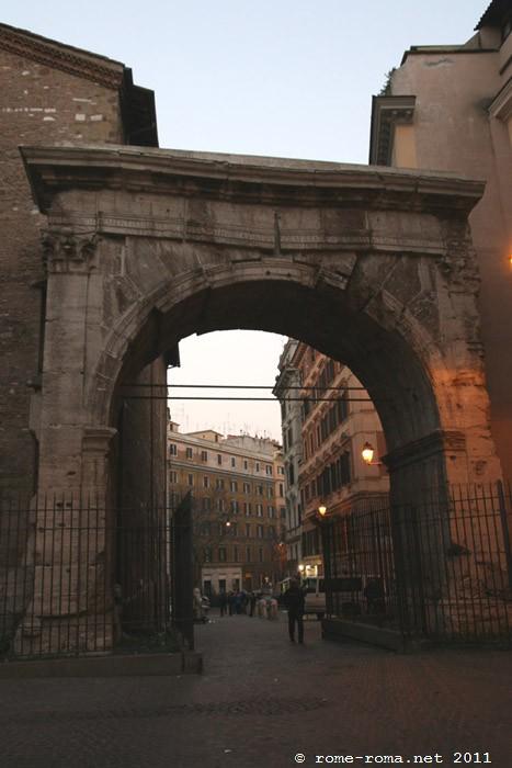 Arco di Gallieno e Porta Esquilina