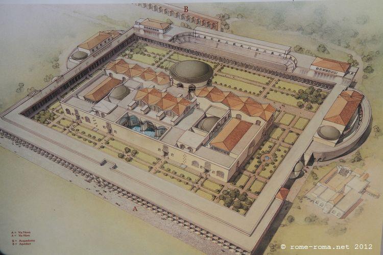 Les thermes romains la rom 39 antique for Terme ou therme